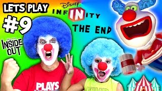 getlinkyoutube.com-Jingles & Jangles Play DISNEY INFINITY 3.0 INSIDE OUT #9 + Scare Cam (FGTEEV Gameplay / Skit)