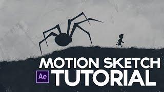 getlinkyoutube.com-Motion Sketch After Effects Tutorial