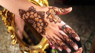 "getlinkyoutube.com-Flower Mandala Mehndi design/ Мехенди ""Цветочная Мандала"""