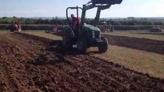 Siromer 504CH ploughing