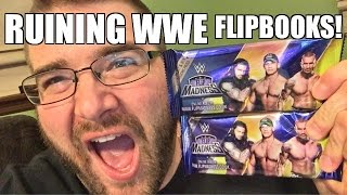 getlinkyoutube.com-FAT MAN Ruins WWE FLIP MADNESS Flip Books with Funny Drawings!