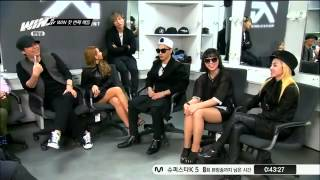 getlinkyoutube.com-[ENG SUB] Big Bang and 2NE1 Judges in WIN