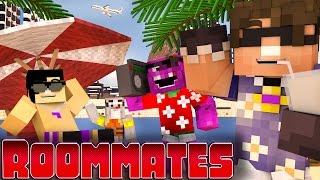 "getlinkyoutube.com-Minecraft ROOMMATES! - ""Hawaii Vacation!"" #6 (Minecraft Roleplay)"