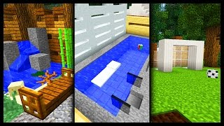 getlinkyoutube.com-Minecraft  - Garden Designs & Ideas