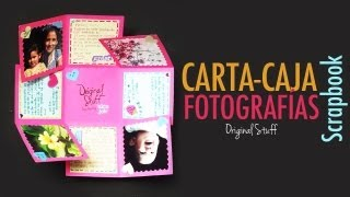 getlinkyoutube.com-Carta/Caja con fotografías [Scrapbook]