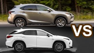 getlinkyoutube.com-2016 Lexus NX VS 2016 Lexus RX 350 F Sport - DESIGN!