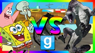 getlinkyoutube.com-SPONGEBOB VS DRAGONS | Gmod Sandbox (Funny Moments)