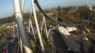 "getlinkyoutube.com-Silver Star - Europapark ""Rust-Germany 2014"" ترن هوایی سیلور استار اروپا پارک آلمان"
