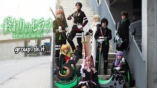 getlinkyoutube.com-Owari no Seraph cosplay group skit Love Anime! 2016
