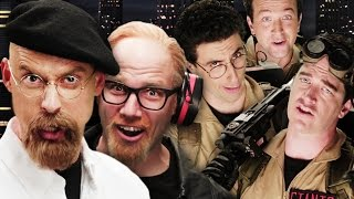 getlinkyoutube.com-Ghostbusters vs Mythbusters.  Epic Rap Battles of History Season 4.