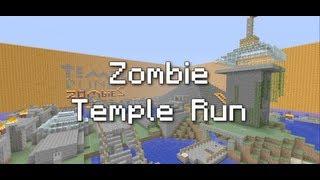 getlinkyoutube.com-Minecraft Xbox 360: Zombie Temple Run Map Download