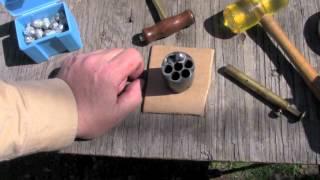 getlinkyoutube.com-44 Round Balls vs Conicals - Part 2 220-grain Conical.mov