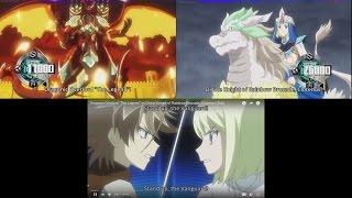 "Dragonic Overlord ""The Legend"" vs Divine Knight of Rainbow Brocade, Clotenus (Sub)"