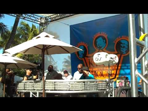 WMC 2012 Louie Vega Three Kings Of House wmc2012 Miami