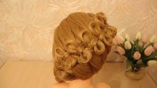 getlinkyoutube.com-Причёска бантики из волос