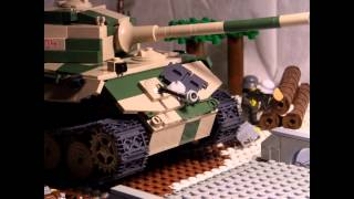 getlinkyoutube.com-Lego WW2: The Tiger of the Bulge
