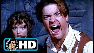 THE MUMMY (1999) Movie Clip - Rick Screams at the Mummy |FULL HD| Brendan Fraser