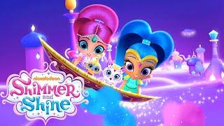 getlinkyoutube.com-Shimmer and Shine: Genie Palace Divine ( Dress Up Kids Game)