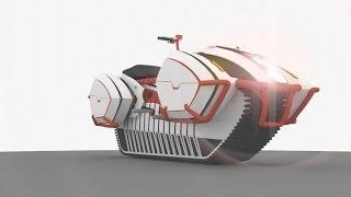 getlinkyoutube.com-Гусеничный мотоцикл