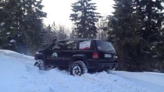 getlinkyoutube.com-Jeep Grand Cherokee ZJ 5.2  Quadra Drive Winter