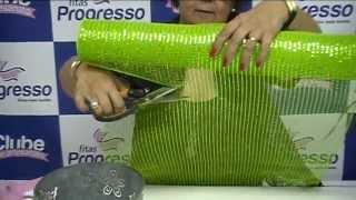 getlinkyoutube.com-Fitas Progresso - Arranjo de Orquídeas com Tela Decorativa - Clube de Artesanato