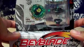 getlinkyoutube.com-Beyblade Metal Masters - Ray Striker/Unicorno D125CS unboxing