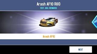 getlinkyoutube.com-Asphalt 8 Arash AF10 R&D: Every Ultimate AI