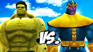 getlinkyoutube.com-HULK vs. THANOS - EPIC BATTLE