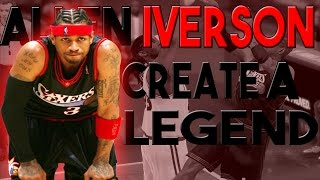 getlinkyoutube.com-NBA 2K16 Allen Iverson Create A Legend | The Answer | Season Opener!