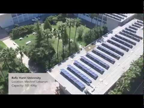 RHU Photo Voltaic (PV) Solar Energy Power Plant project