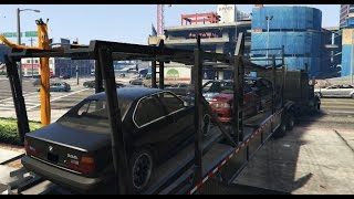 getlinkyoutube.com-GTA 5 Franklins New Cars (Real Car Mod)
