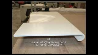 getlinkyoutube.com-Thermoforming solid surface
