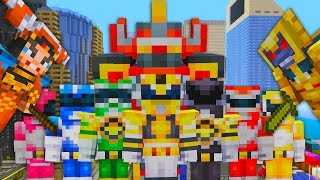 Minecraft Xbox | Power Rangers New Skin Pack | Update TU51