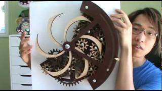 getlinkyoutube.com-Cogsworth Kinetic Sculpture