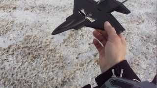 getlinkyoutube.com-Ultra Micro F22 (RAPTOR) Maiden flight.