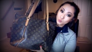 getlinkyoutube.com-LOUIS VUITTON TOTALLY MM MONOGRAM REVIEW and WHATS IN MY BAG
