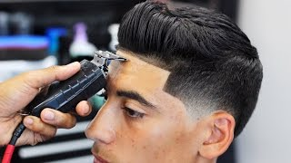 getlinkyoutube.com-HAIRCUT TUTORIAL: SEAN O'DONNELL TAPER FADE BLOW DRY AND STYLE