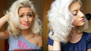 getlinkyoutube.com-Como desamarelar os cabelos loiros!