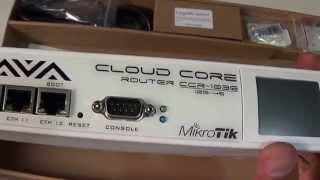 getlinkyoutube.com-Unboxing - Mikrotik RouterBoard CCR1036-12G-4S-EM