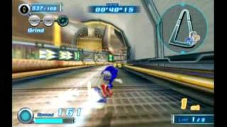 getlinkyoutube.com-Sonic Riders Zero Gravity - Heroes Story Part 1