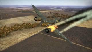 getlinkyoutube.com-IL 2 Sturmovik Battle of Stalingrad Epic Crashes and Fails Compilation Part 9