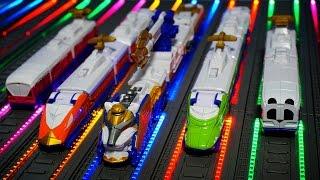 getlinkyoutube.com-파워레인저 트레인포스 사파리킹 장난감 레인보우라인 배경  烈車戦隊 Power Rangers Super Sentai Toys