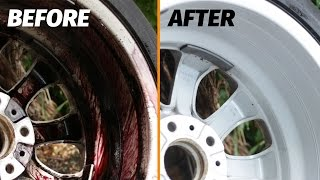 How to Clean EXTREMELY Dirty Wheels