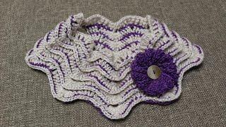 getlinkyoutube.com-Cuello Zig Zag Crochet