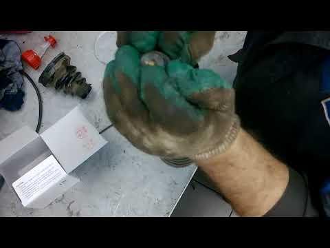 Замена пыльника внутреннего шруса HONDA
