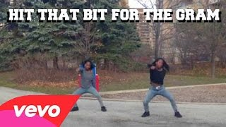 getlinkyoutube.com-Hit That Bit For The Gram - @MightyMike Twin Version Dance Cover #HitDhatBit4TheGramChallenge