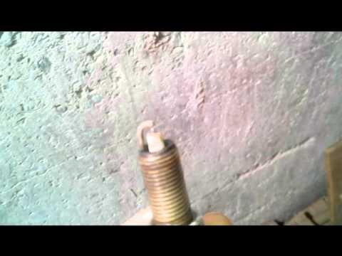 Замена(чистка) свечей зажигания CHERY TIGGO FL