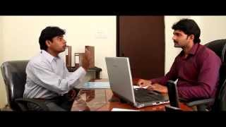 getlinkyoutube.com-BACK DOOR ( Telugu Best Comedy Short Film in 2013 and 2014 With full Funny Software job interviews )