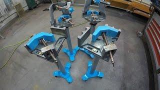 getlinkyoutube.com-Metalwork Monday 4 - Stronghand Tools 3 Axis Vise/Vice Fixture Fabrication