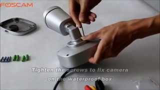 getlinkyoutube.com-Foscam FI9900P Waterproof Junction Box (FAB99) Installation
